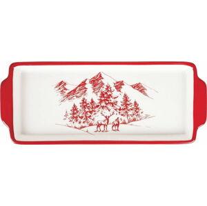 Vánoční servírovací tác z dolomitu Villa d'Este Alaska