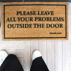 Rohožka Doormat Problems, 70 x 40 cm