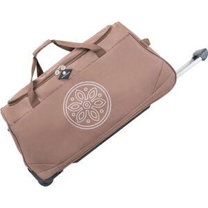 Béžová cestovní taška na kolečkách GERARD PASQUIER Miretto, 61 l