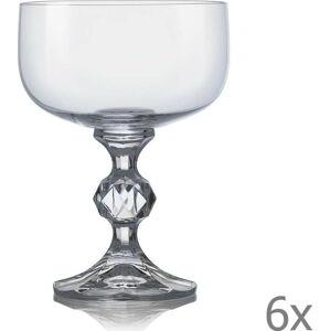 Sada 6 sklenic na šumivé víno Crystalex Claudia,200ml