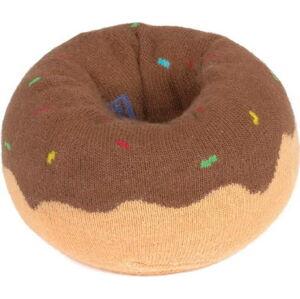 Ponožky DOIY Doughnut Brown, vel. 36 - 46