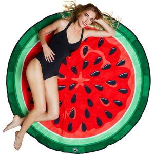 Plážová deka ve tvaru melounu Big Mouth Inc., ⌀152cm