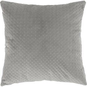 Šedý polštář Tiseco Home Studio Textured, 45x45cm
