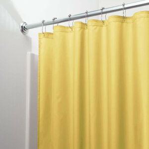 Žlutý závěs do sprchy iDesign Poly