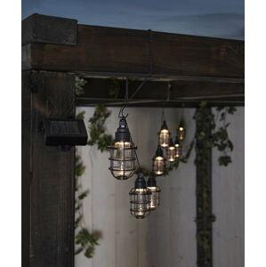 Venkovní světelný LED řetěz Best Season Cage, 8 světýlek