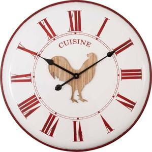 Nástěnné hodiny Antic Line Cuisine, ø 61,5 cm