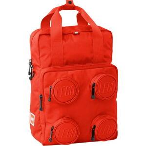 Červený batoh LEGO® Signature Brick