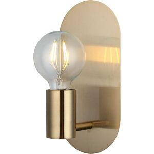 Nástěnné svítidlo ve zlaté barvě Homemania Decor Zala