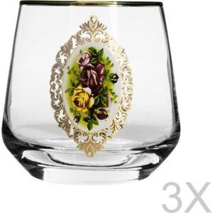 Sada 3 sklenic Mezzo Lal, 345 ml
