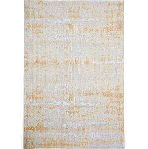Šedo-žlutý koberec Floorita Abstract, 80 x 150 cm