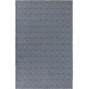 Modrý bavlněný koberec Flair Rugs Pappel, 192 x 290 cm
