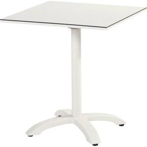 Bílý zahradní jídelní stůl Hartman Romeo, 68 x 68 cm