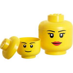 Úložný panáček LEGO® Girl, ⌀24,2cm