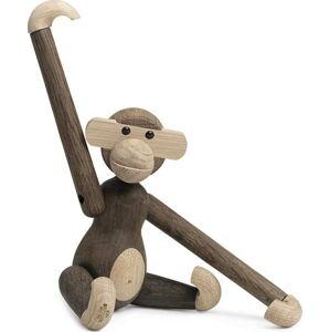 Soška z masivního dubového dřeva Kay Bojesen Denmark Monkey
