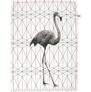 Utěrka Present Time Flamingo