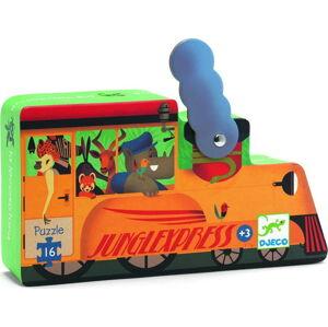 Dětské puzzle Djeco Lokomotiva