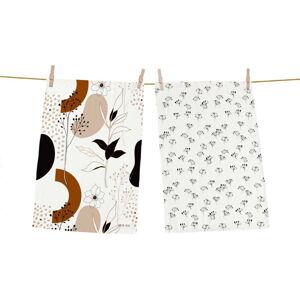 Set 2 kusů utěrek z bavlny Butter Kings Autumn Vibe, 70 x 50 cm