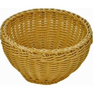 Béžový stolní košík Saleen, ø 16cm