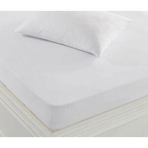 Bílý ochranný povlak na polštář, 50x70cm