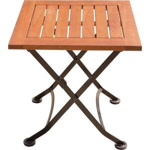 Zahradní odkládací stolek z eukalyptového dřeva ADDU Vienna