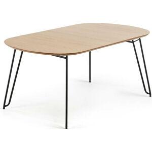Jídelní rozkládací stůl v dekoru dubového dřeva La Forma Novac, 170 x 100 cm