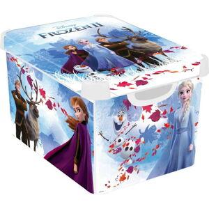 Dětský úložný box s víkem CURVER Frozen,22l