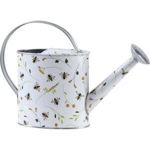Zahradní konvice s potiskem Esschert Design Bee, 2 l