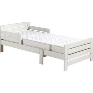 Bílá nastavitelná postel Vipack Jumper White