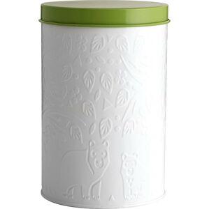 Bílo-zelená dóza na skladování potravin Mason Cash In the Forest,2,9l