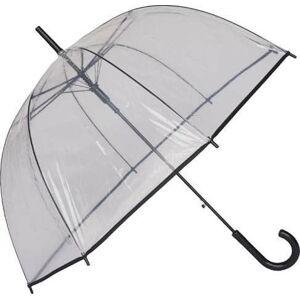Transparentní větruodolný deštník Ambiance Susino Matic, ⌀100cm