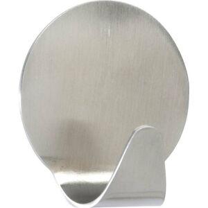 Sada 2 matných nástěnných háčků z nerezové oceli Wenko Maxi Round