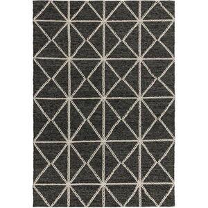 Černo-béžový koberec Asiatic Carpets Prism, 120 x 170 cm