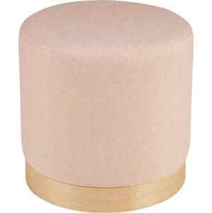 Růžový puf sømcasa Angus
