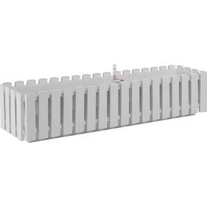 Bílý samozavlažovací truhlík Gardenico Fency Smart System, délka 75cm
