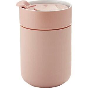 Růžový cestovní termohrnek Ladelle Eco,300ml