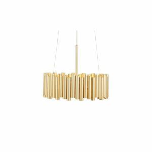 Závěsné svítidlo ve zlaté barvě Markslöjd Level 3L