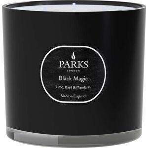 Svíčka s vůní limetky, bazalky a mandarinky Parks Candles London Black Magic, doba hoření 56 h
