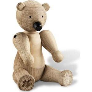 Soška z masivního dubového dřeva Kay Bojesen Denmark Bear