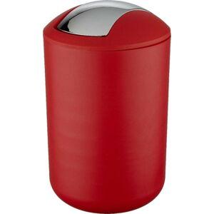Červený odpadkový koš Wenko Swing Red L