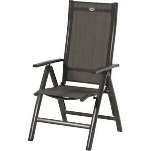 Černá zahradní židle Hartman Troy