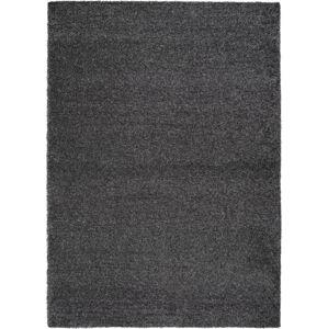 Antracitově šedý koberec Universal Catay, 125 x 67 cm