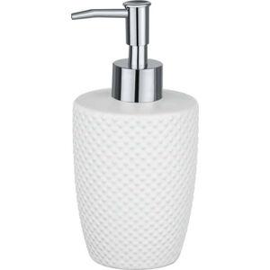 Bílý keramický dávkovač na mýdlo Wenko Punto