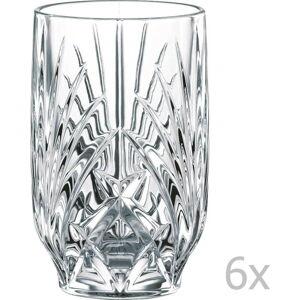 Sada 6 sklenic z křišťálového skla Nachtmann Fruit Juice Tumbler, 265 ml